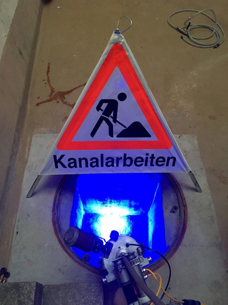 Kanalsanierung Basel Prozess Schritt 3